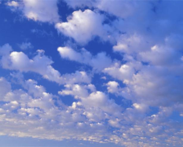Фотообои с небом и облаками для стен (sky-0000037)
