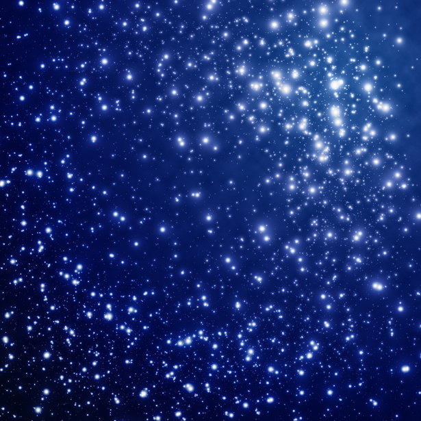 Фотообои звездное небо звезды (space-0000076)