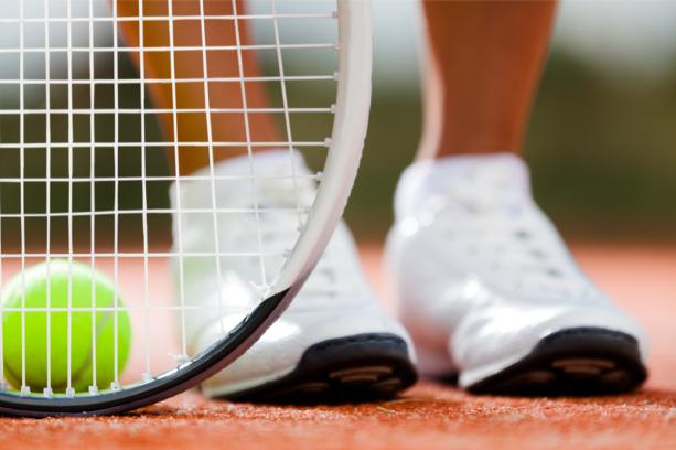 Фотообои теннис ракетка и мяч (sport-0000148)