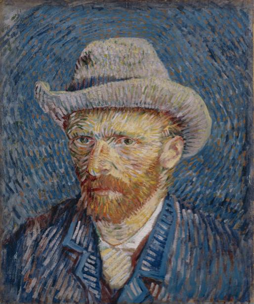 Ван Гог автопортрет (art-0000251)
