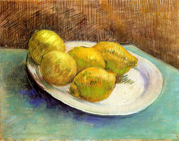 Ван Гог лимоны (art-0000261)