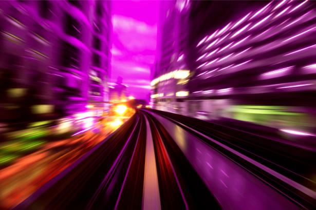 Фотообои абстракция город (background-0000008)