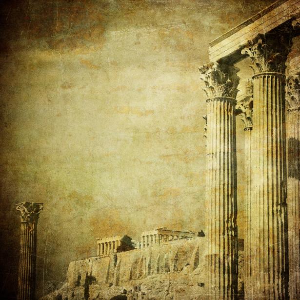 Фотообои Греческие колонны (city-0000378)