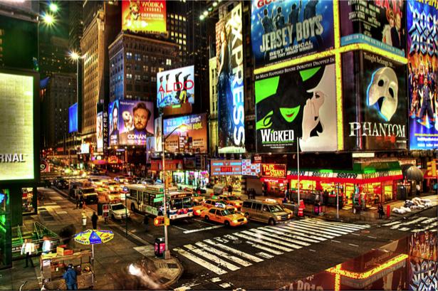 Фотообои Нью-Йорк Америка улицы (city-0000437)