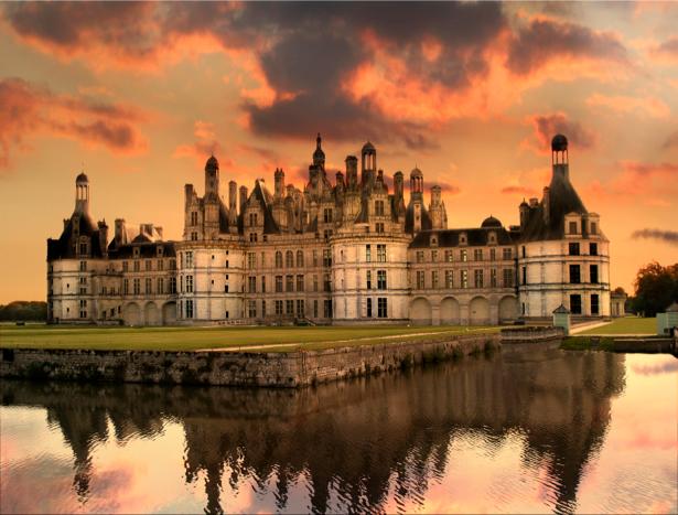 Фотообои дворец замок крепость (city-0000574)