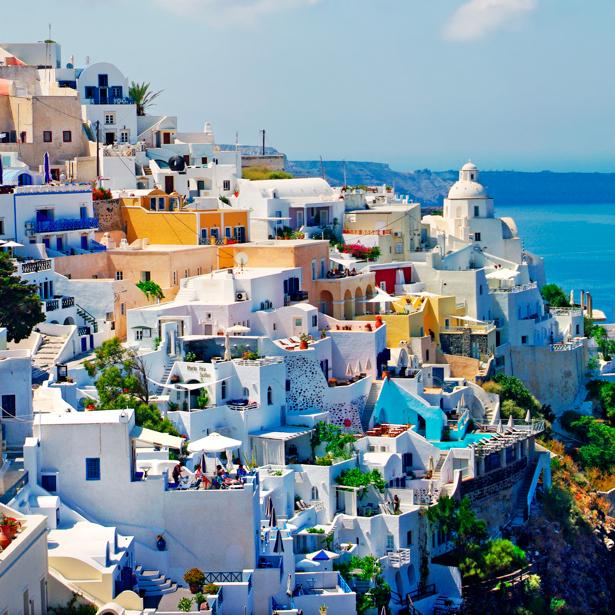 Фотообои Греция побережье (city-0000623)