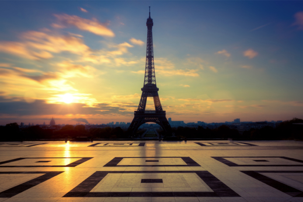 Фотообои Эйфелевая башня (city-0000668)