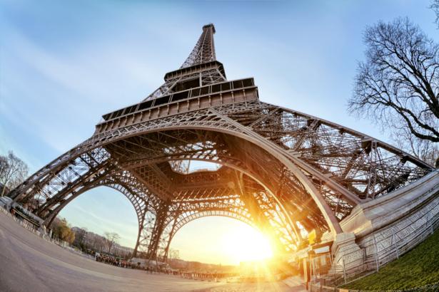 Фотообои Эйфелевая башня, Париж, Франция (city-0000675)