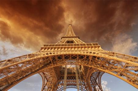 Фотообои эйфелева башня (city-0001127)