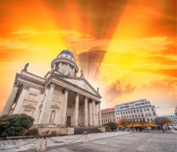 Фотообои площадь Жандарменмаркт Берлин (city-0001317)