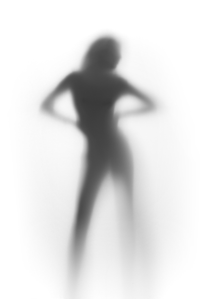 Фотообои в контражуре фигура (glamour-0000165)