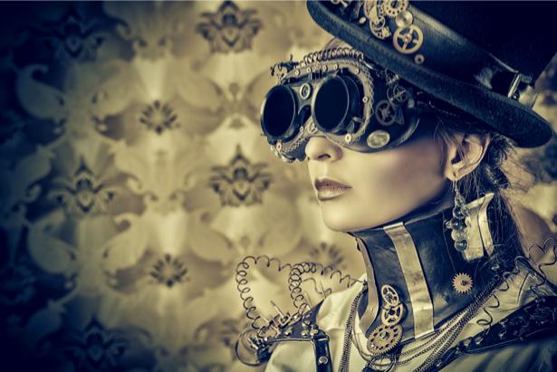 Фотообои стимпанк киберпанк (glamour-0000215)