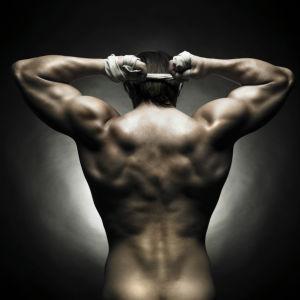 Фото обои Красивое мужское тело (glamour-0000250)