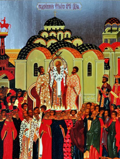 Воздвижение Креста Господня (icon-00024)