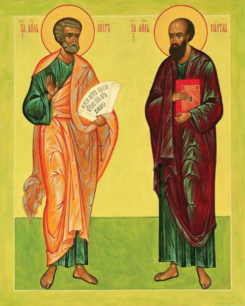 Икона Апостол Петр и Апостол Павел (icon-00050)