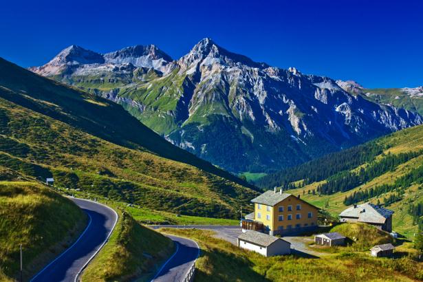 Фотообои горы ландшафт (nature-0000652)