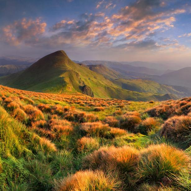 Фотообои фото пейзаж горы (nature-00504)