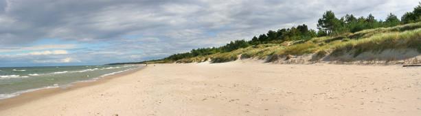 Фотообои берег реки песчаный пляж панорама (panorama_0000015)