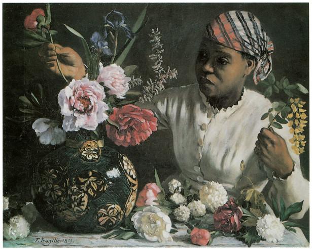 картина  женщина с пионами (pf-6)