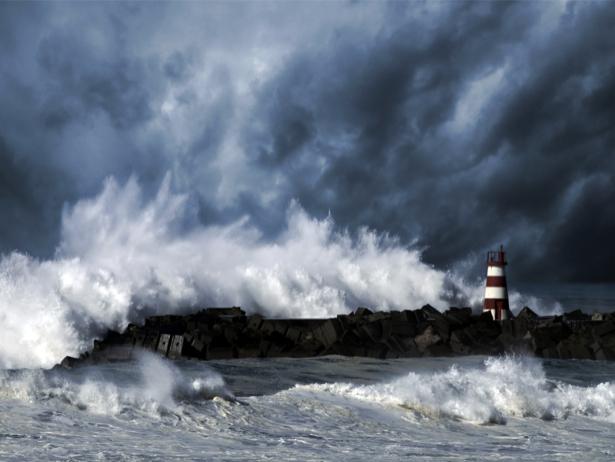 Фотообои море волны маяк (sea-0000231)