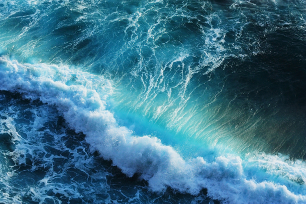 Фотообои море и пена волны (sea-0000356)