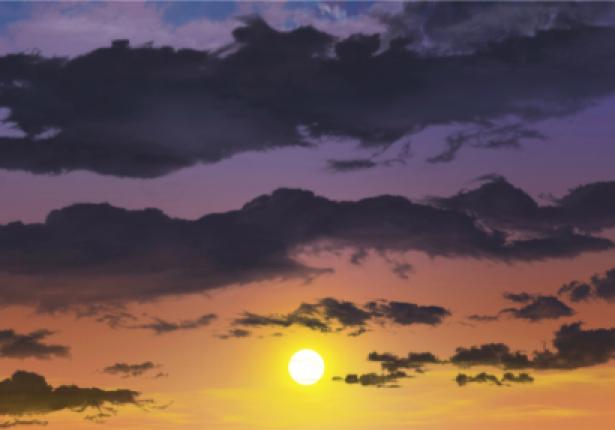 Фотообои солнце вечернее небо (sky-0000124)
