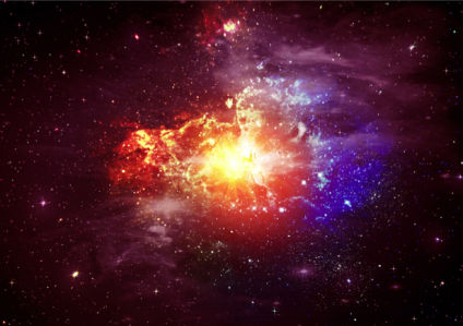 Фотообои галактика и звезды (space-0000056)
