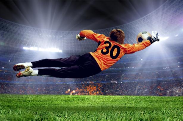 Фотообои вратарь футбол (sport-0000048)