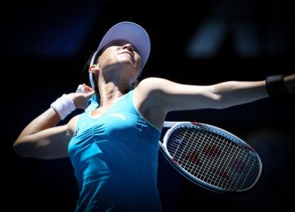 Фотообои теннис подача (sport-0000152)