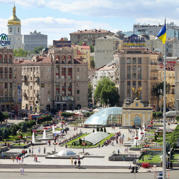 Фотообои Площадь независимости (ukr-45)
