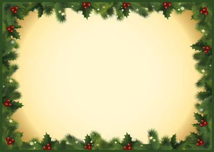 Скатерть Сосновые ветки с украшениями (0019)