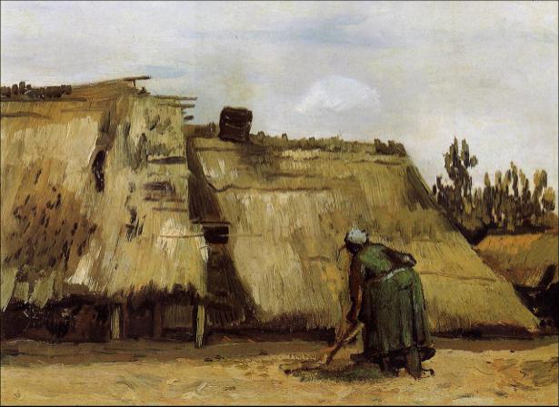 Ван Гог пейзаж (art-0000173)