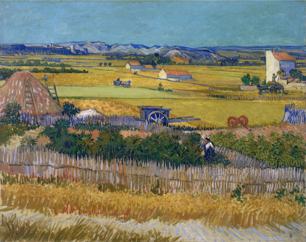 Ван Гог пейзаж (art-0000193)