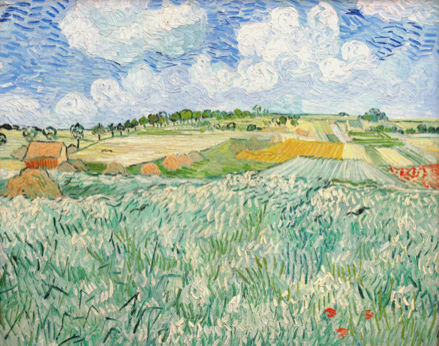 Ван Гог пейзаж (art-0000239)