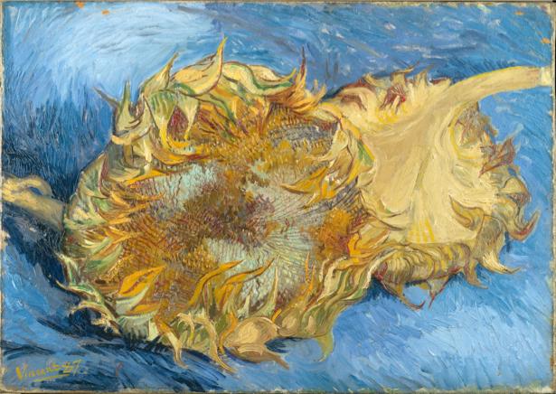 Обои Живопись цветы -  Подсолнухи (art-0000262)