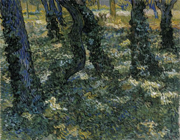 Ван Гог пейзаж (art-0000282)