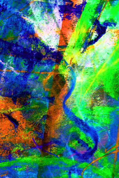 Фотообои абстракция пастельная (background-0000073)