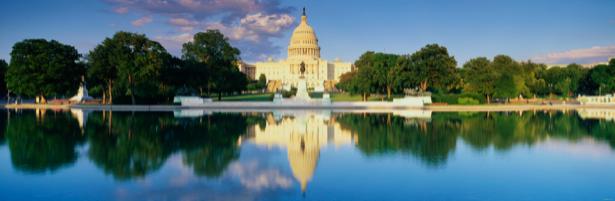 Фотообои Капитолий Вашингтон США конгресс (city-0000056)