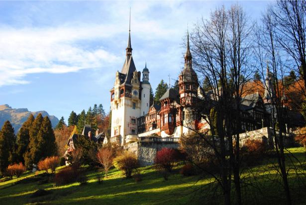 Фотообои Замок Румыния (city-0000060)