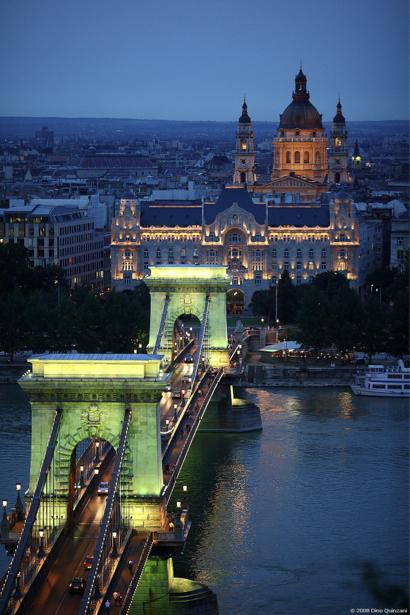 Фотообои Будапешт, мост (city-0000221)