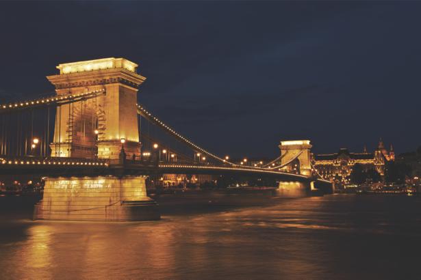 Фотообои  Венгрия Цепной мост (city-0000445)