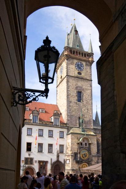 Фотообои Прага Пражские часы (city-0000527)