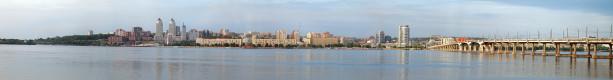 Фотообои панорама Днепропетровска (city-0000843)