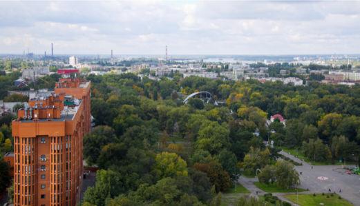 Фотообои город Днепропетровск вид (city-0000949)