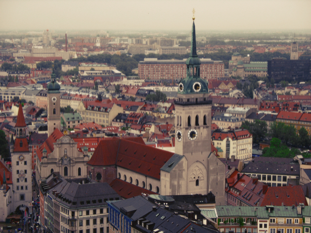 Фотообои Мюнхен кафедральный собор (city-0000979)