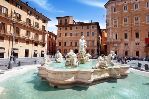 Фотообои римская площадь (city-0001110)