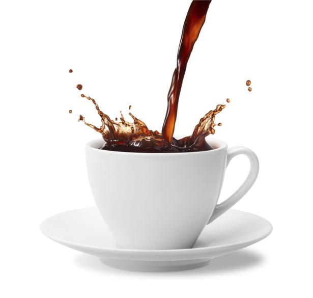 Фотообои в кухню кофе капли чашка (food-0000118)
