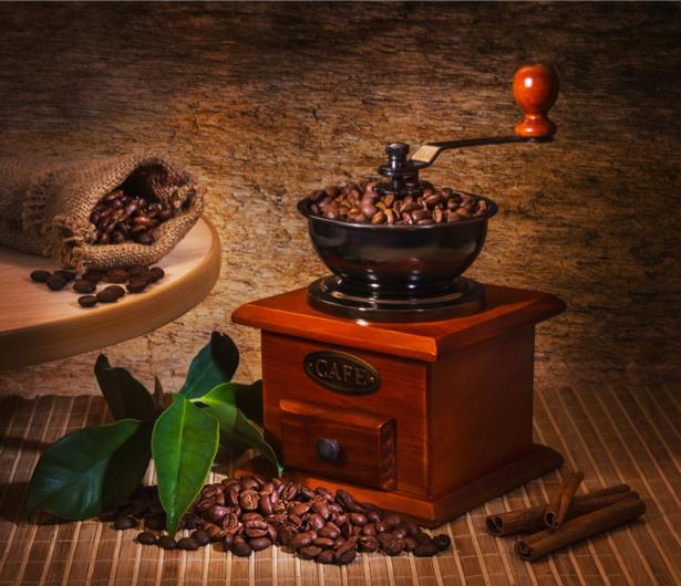Фотообои для кухни Кофемолка (food-0000156)