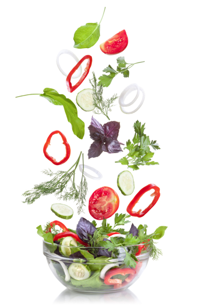 Ассорти салат фотообои для кухни (food-0000188)