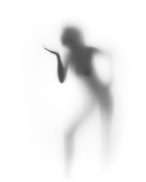 Фотообои девушка фигура на просвет (glamour-0000156)